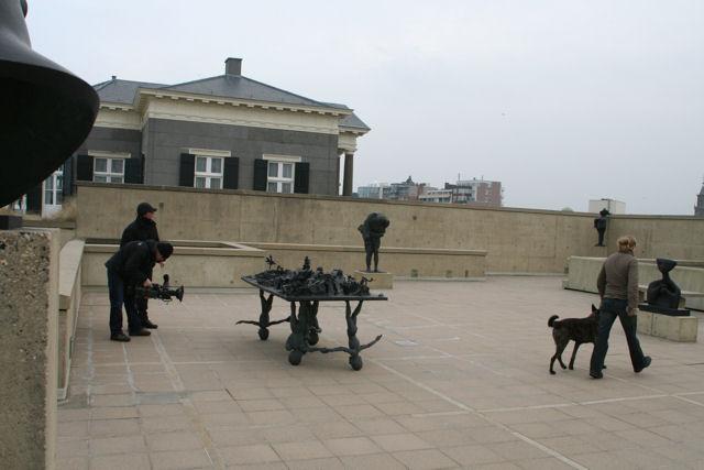 Hollandse herder Dingo kunstuur Scheveningen